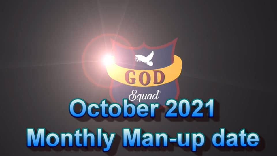 Oct 2021 Man-up Date