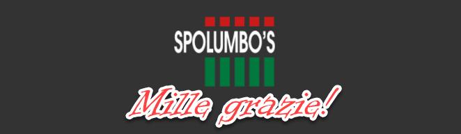 Mille grazie Spolumbo's